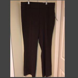 Maurices brown dress pants polished 11–12 long